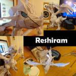 Papercraft Reshiram