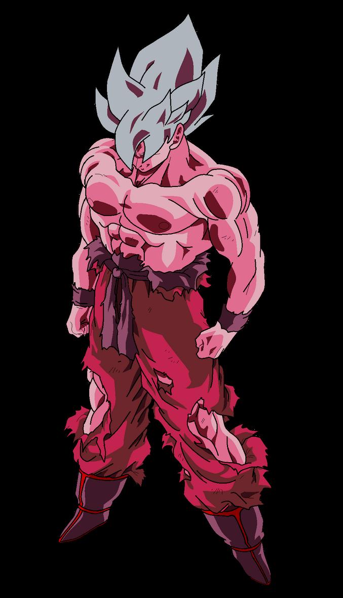 Goku Super Saiyajin (Alt.Color#3) by MarcoVerdugo