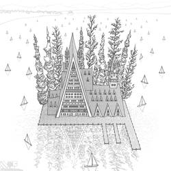 A Delicate Balance: The Lake Chalet