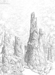 A Delicate Balance: Mountains Beyond Mountains Ink