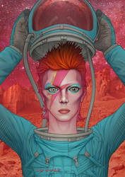 David Bowie: Ziggy Stardust on Mars
