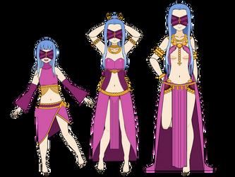 Medea Age Progression (FanArt) by Khorvuss