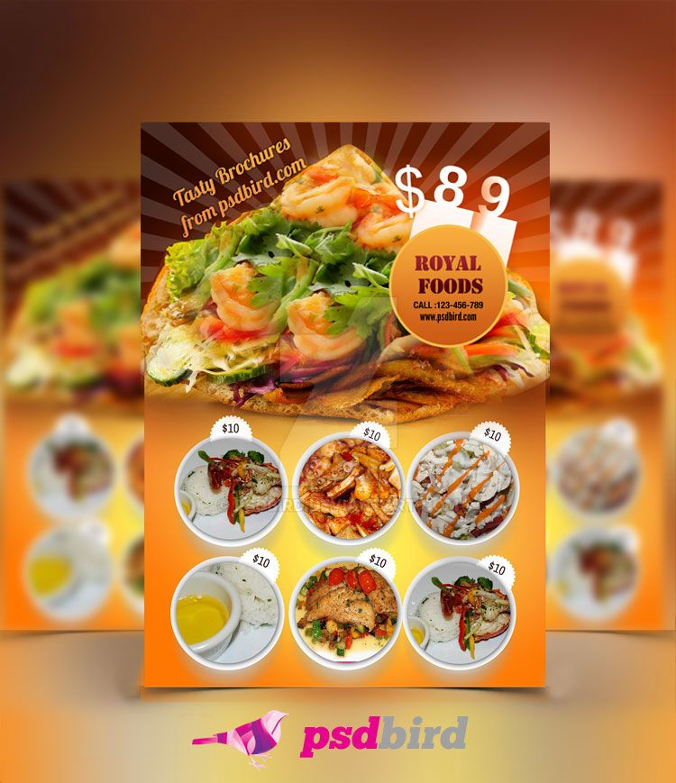 free restaurant menu templates psd by psdbird on deviantart