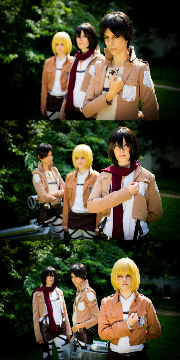 Attack On Titan - Join The Fight by ShamanRenji