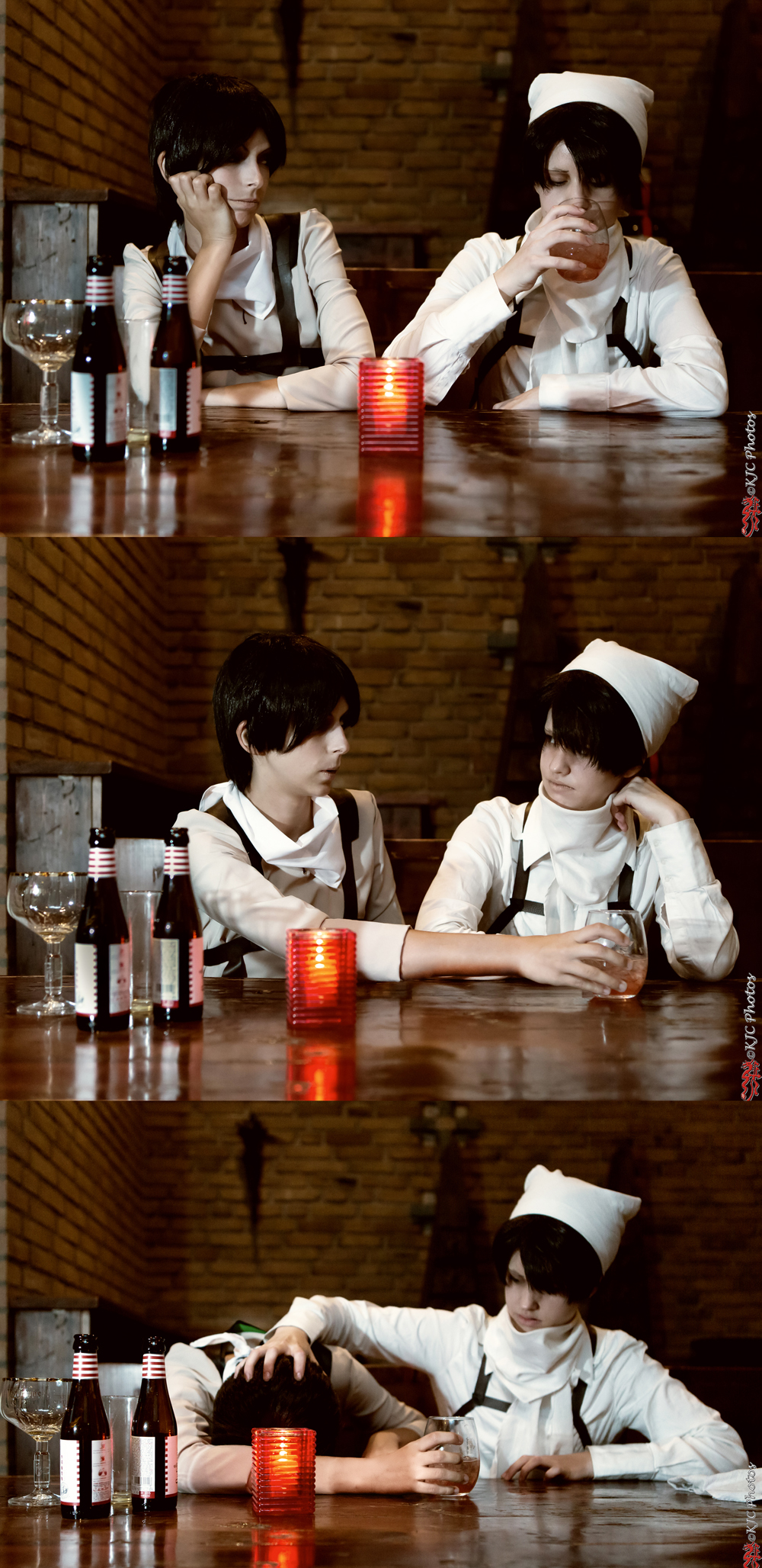 Shingeki no Kyojin - Grabbing a drink by ShamanRenji
