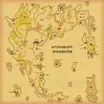 Britannia Map Parchment