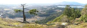 Mount Tzouhalem Panorama by Hai-Etlik