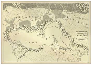 The Lands of the Inner Sea by Hai-Etlik