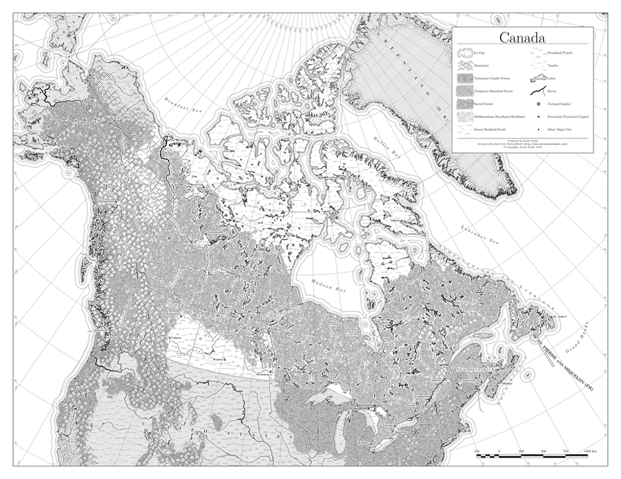 Canada in Black and White by Hai-Etlik