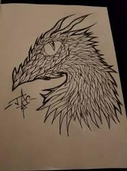 Rainbow Dragon Inks