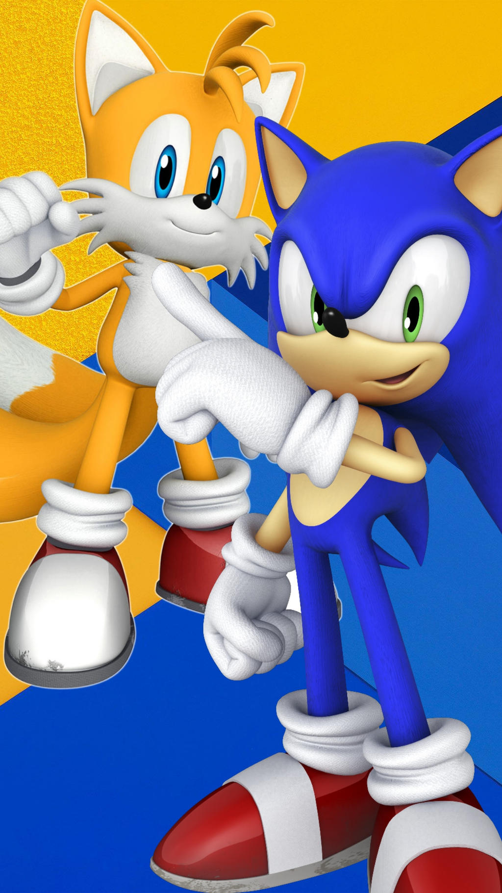 Sonic E Tails Android Wallpaper By Tails455 On Deviantart