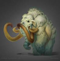 Mammoth by DmitriyBarbashin