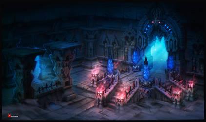 Dungeon 1 by DmitriyBarbashin