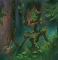 Forest creature 1