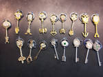 The 17 Keys From Fairy Tail. (Cosplay)