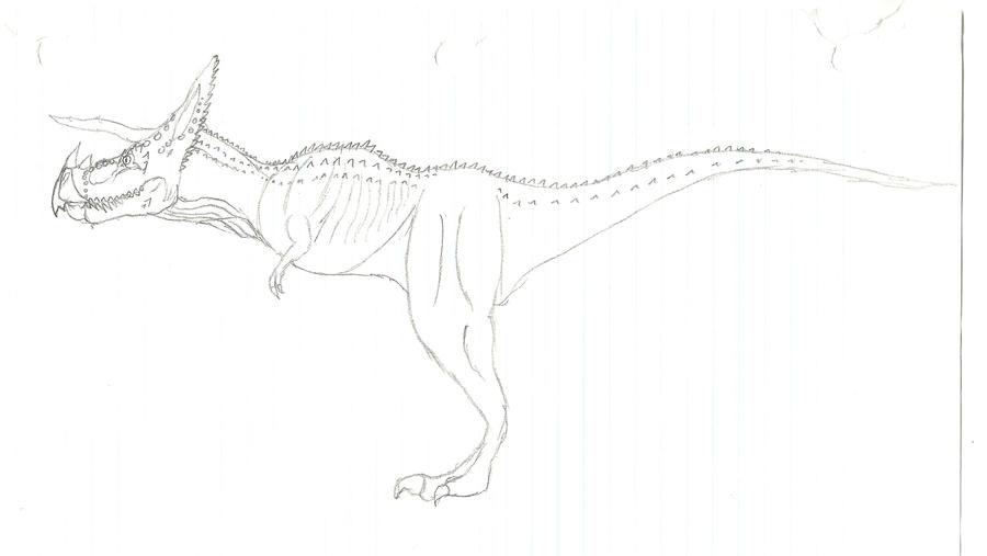 Tyrannoceratops by b-lea