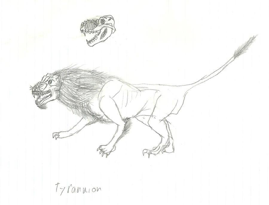 Tyrannion by b-lea