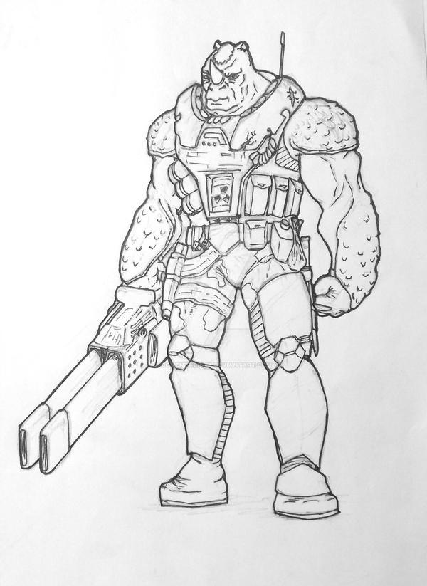 Randi Soldier - Sci-fi Hero by comentarista