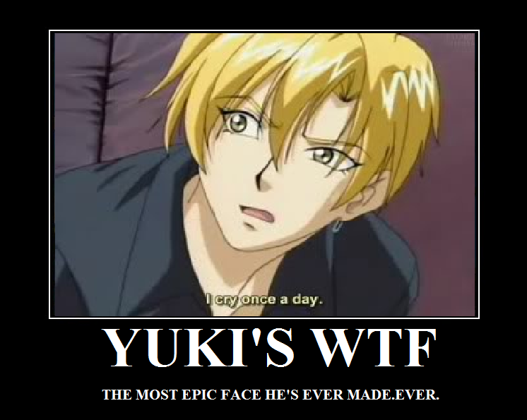 Anime wtf face gif yuki s wtf face by
