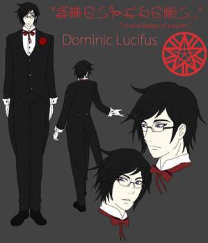 Kuroshitsuji OC Dominic