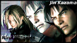 Jin Kazama and Nina Williams