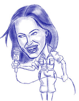 Megan Fox Caricature
