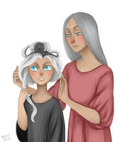 Ysabell and Susan by ArlenianChronicles