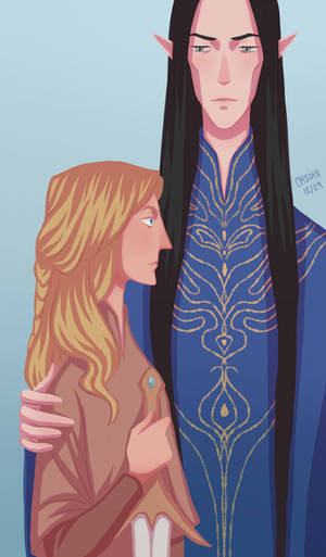 Fingolfin and Hador by ArlenianChronicles