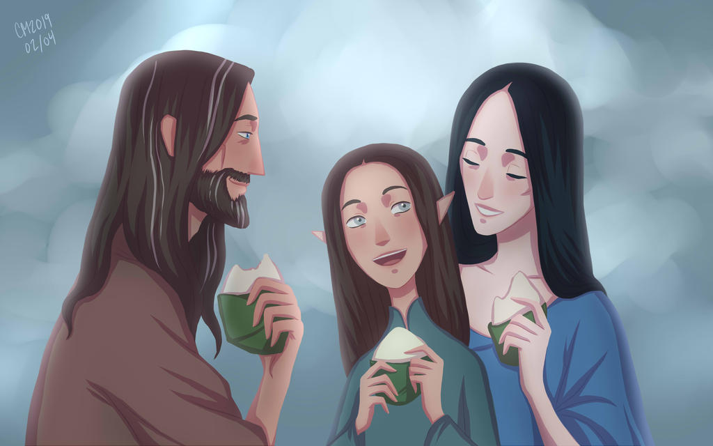 Lembas Picnic by ArlenianChronicles