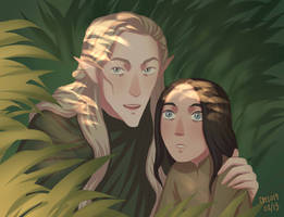 Beleg and Turin by ArlenianChronicles