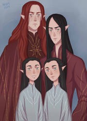 A Family Portrait by ArlenianChronicles