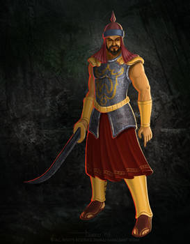 Mughal Soldier