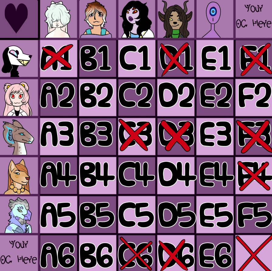 [OPEN] OC breeding grid