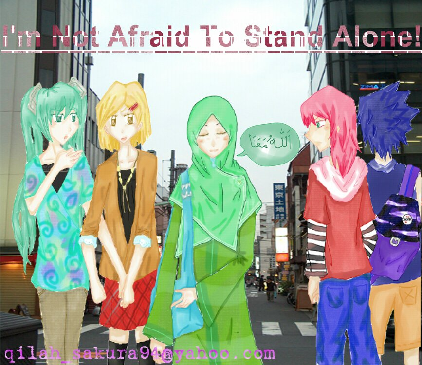 I'm Not Afraid To Stand Alone! by AqiRiko