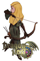 Muslimah Archer From Dragon Nest by AqiRiko