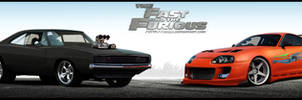 Fast And Furious Dodge Charger Toyota Supra