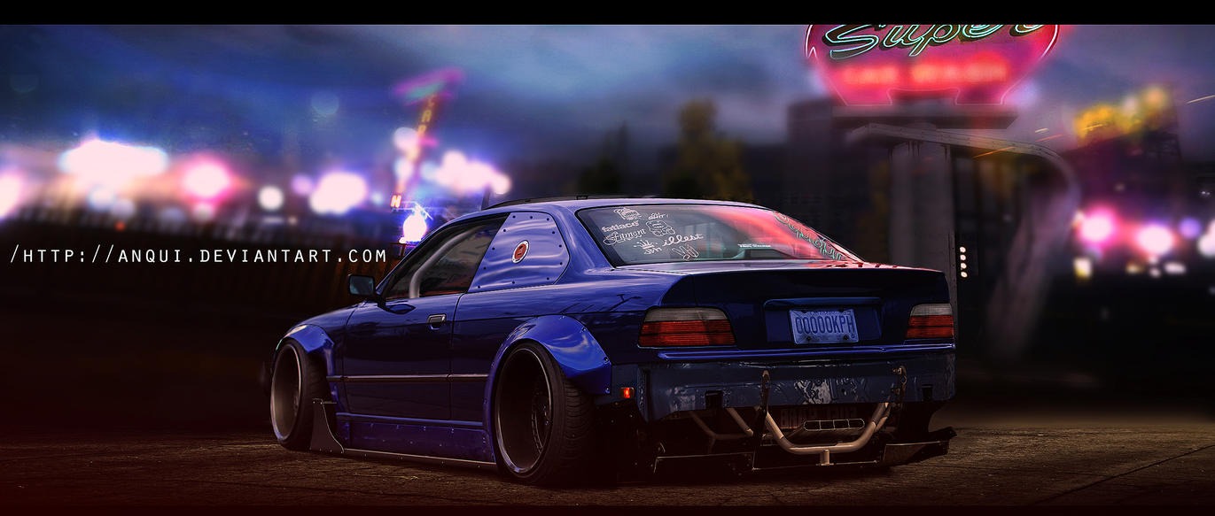 Bmw 328i Without Spoiler by aNqUi