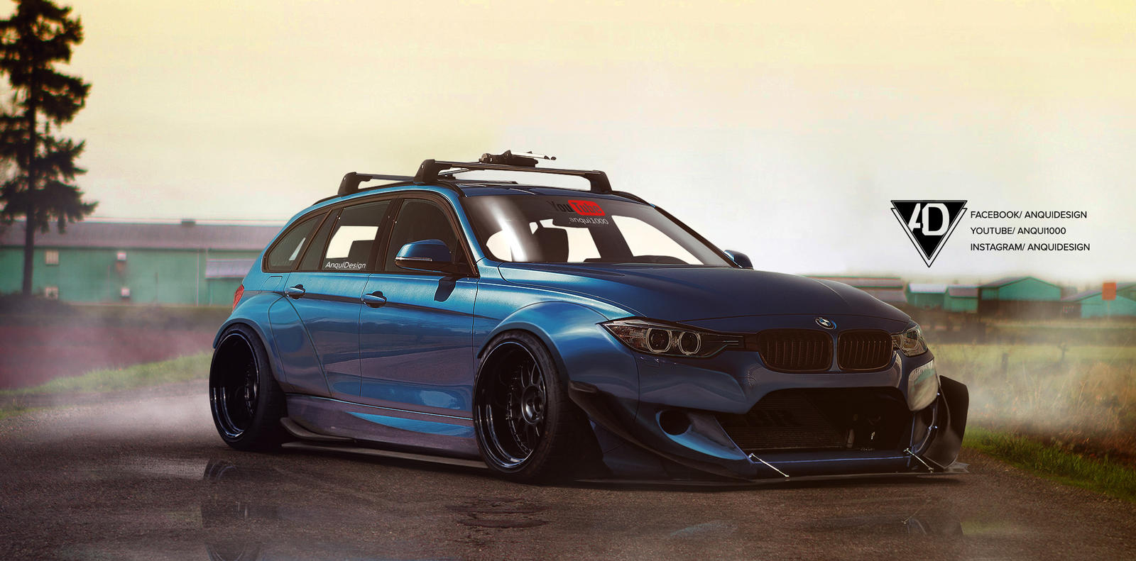 Bmw F80 Rocket Bunny By Anqui On Deviantart
