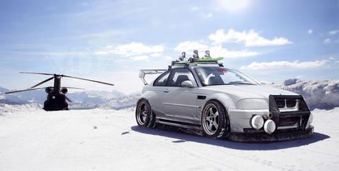 BMW E46 M3 Snow time