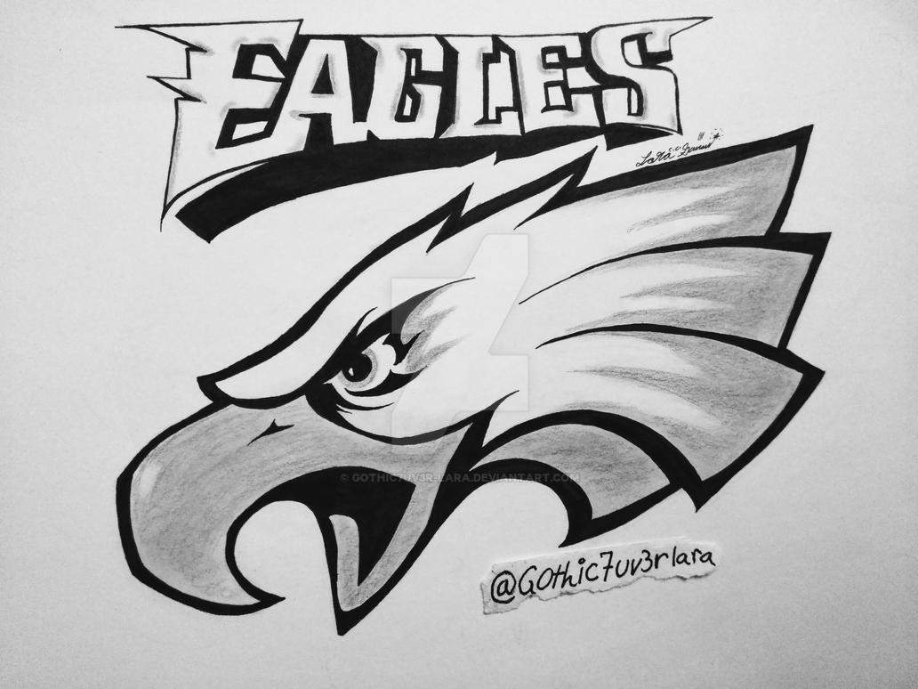 Philadelphia Eagles Symbol By Gothic7uv3r Lara On Deviantart