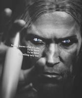 Behind Blue Eyes... by Nyiro