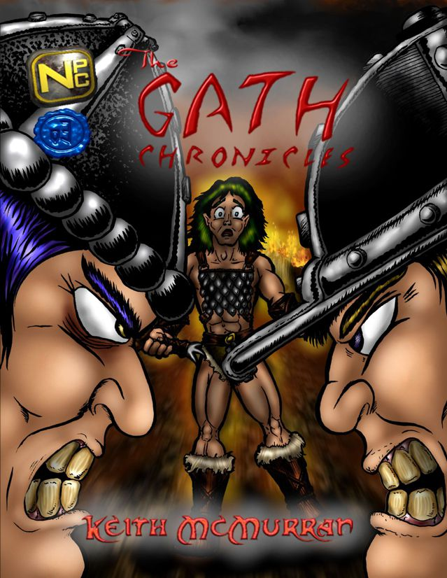 Gath chronicle issue 3 cover by misterprickly