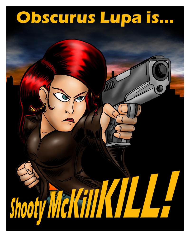 Shooty McKillKILL poster by misterprickly