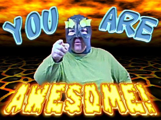 U R awesome! by misterprickly
