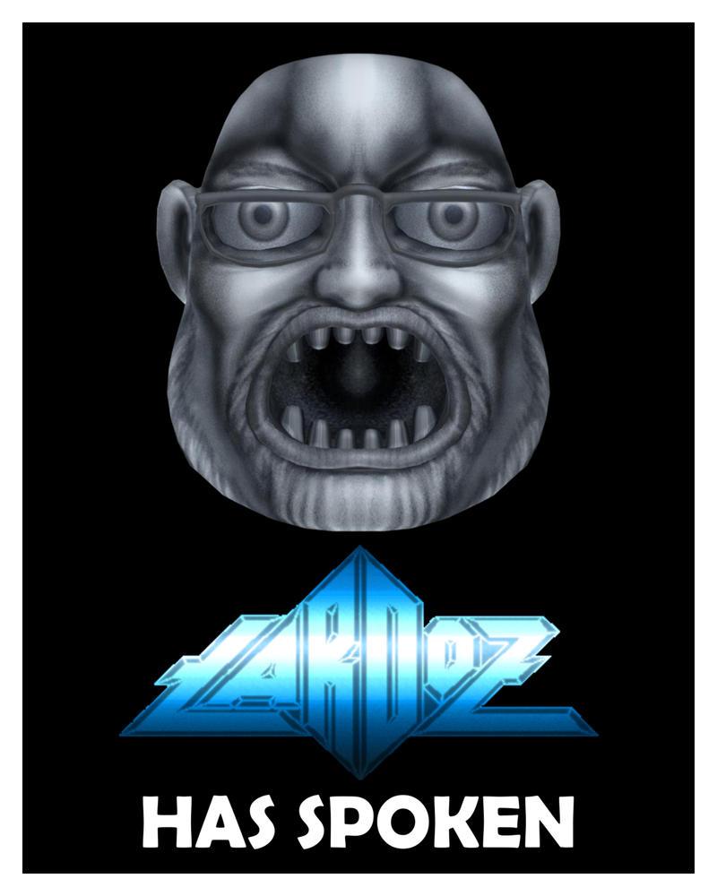 LARDOZ Poster by misterprickly