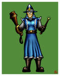 Magical magistrate coloured by misterprickly