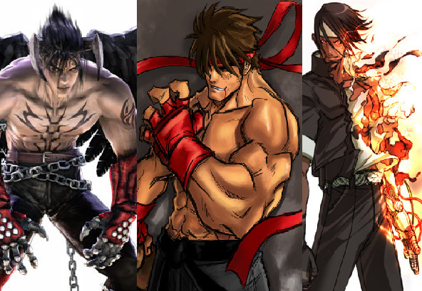 evil ryu wallpaper. Devil Jin, Evil Ryu, Kusanagi by ~ChanWeijie1991 on deviantART