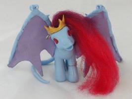 Demona Custom My Little Pony by SirenGarg