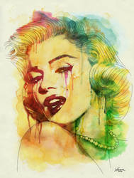 Marilyn Monroe by chrisxavier