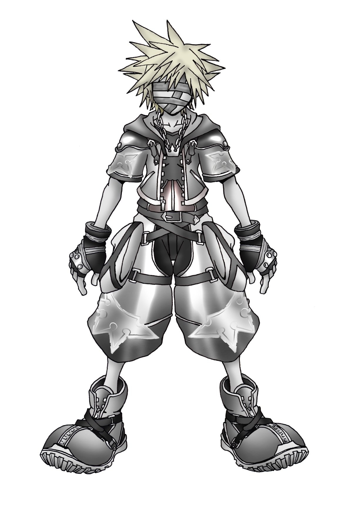 Kingdom Hearts 2 Un Form by Marduk-Kurios on DeviantArt